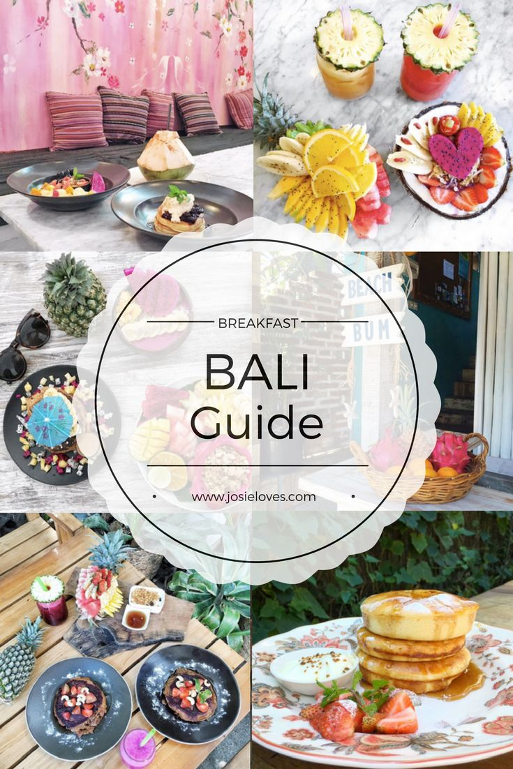 Bali Travel Guide: Top Ten Cafés und Restaurants für Frühstück in Seminyak, Canggu und Kerobokan / Best Breakfast in Bali / Pancakes, Bowls, Hot Cakes, French Toast, Fresh Fruit