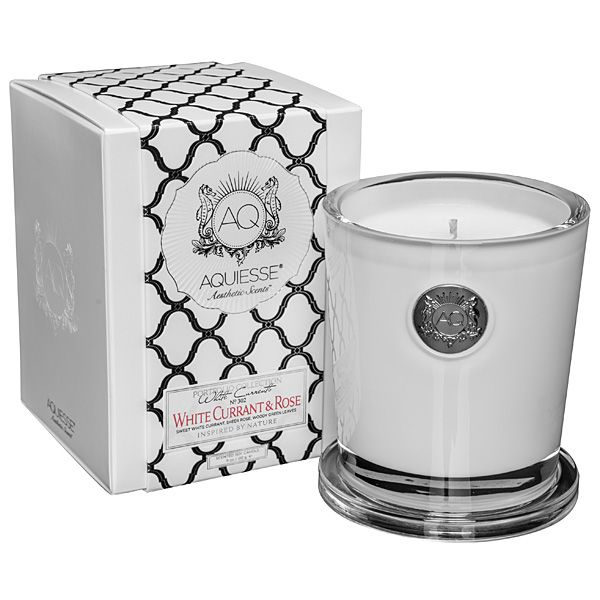 Aquiesse White Currant & Rose Candle