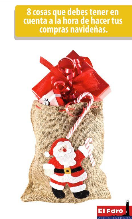Con estas recomendaciones tus compras navideñas se podrán realizar con total éxito.
