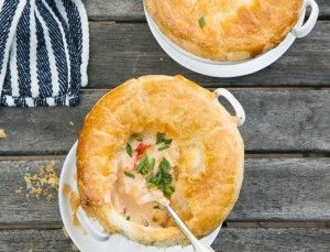 Everybody needs a little indulgence once in a while, and this one is totally worth it. You can freeze these (unbaked) and have them ready and waiting for a cozy night. on goop.com. http://goop.com/recipes/lobster-pot-pie/
