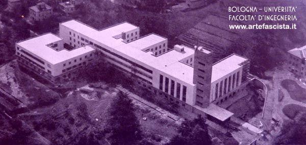 Bologna - Università - Facoltà di Ingegneria - 1931 - 1935  Arch. Giuseppe Vaccaro