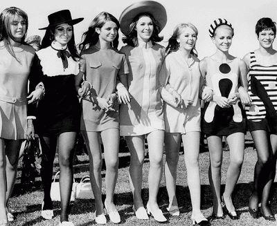 La moda a través del tiempo: años 60. Recorrido histórico de la moda en http://vasderetro.blogspot.com.es