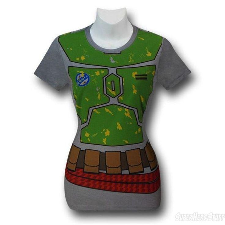 Images of Star Wars Boba Fett Costume Women's T-Shirt