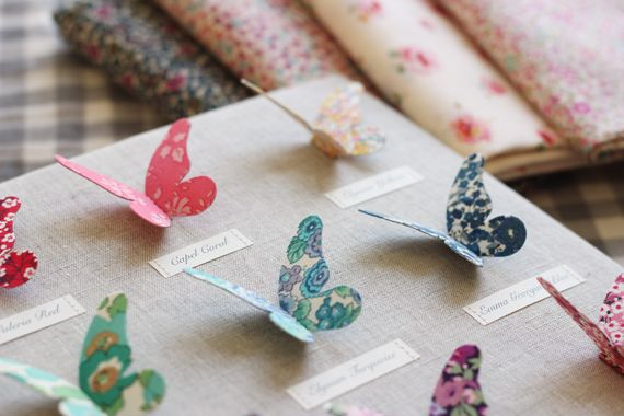 Sew Sweet Violet: Liberty of London Butterflies
