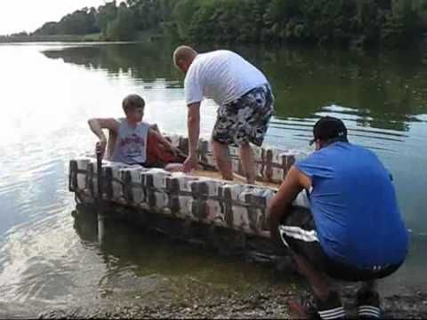 Milk Jug Raft Reuse Recycle Tires And Recyle Items To