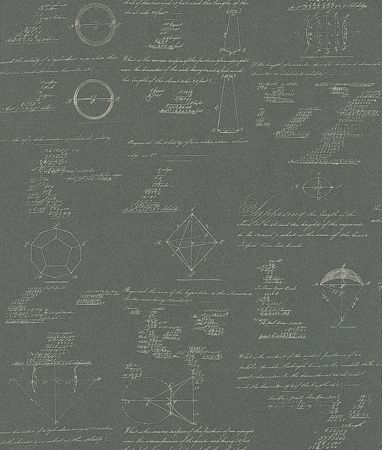 Pythagoras Charcoal wallpaper by Andrew Martin