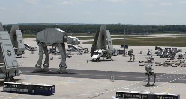Το αεροδρόμιο του Star Wars   Verge