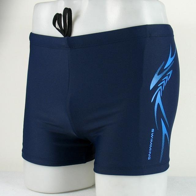 Brand Men's Swim Shorts Racing Swimsuit Man Swimming Trunks Swimming Briefs Breathable Swimwear Men Boxer Board Shorts XXXXL