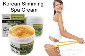 Bakar Lemak Membandel Ditubuh Cukup Olesi Korean Slimming Spa Cream Hanya Rp.89,000 - www.evoucher.co.id #Promo #Diskon #Jual  Klik > http://evoucher.co.id/deal/Korean-Slimming-Spa-Cream  Korean Slimming Spa Cream Membakar lemak membandel dengan cepat mengurangi akumulasi kelebihan lemak sekaligus meningkatkan sirkulasi darah dan metabolisme tubuh, sehingga tubuh kembali kencang & terhindari dari Obesitas, menjaga berat badan sehingga tidak akan bertambah lagi.  pengiri
