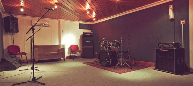 band rehearsal room setup - Google Search