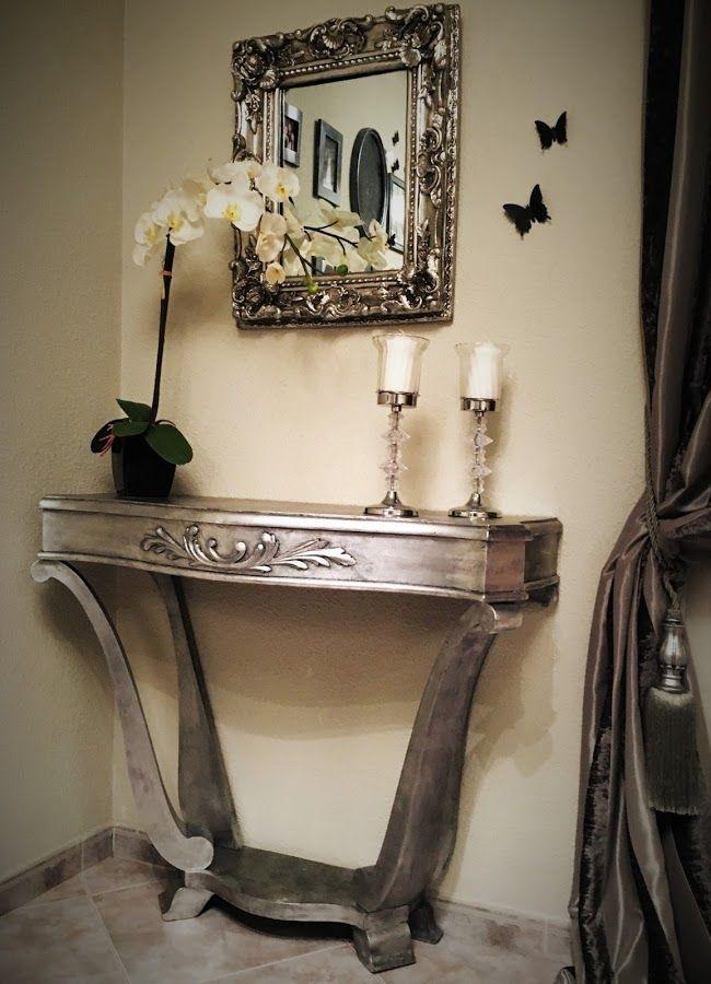 M s de 20 ideas incre bles sobre aparador de plata en - Muebles pintados en plata ...