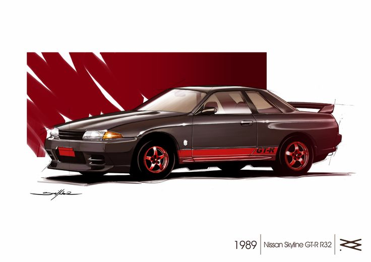 NISSAN SKYLINE GTR R32 1989