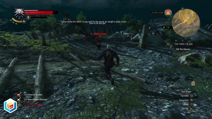 The Witcher 3 Wild Hunt The Family Blade Witcher Contract Quest Walkthrough – VGFAQ