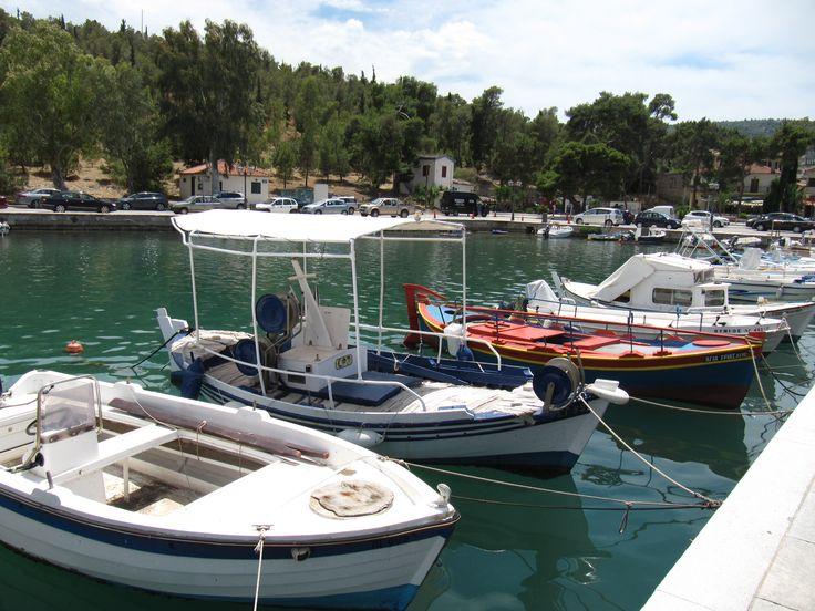 Boats, Galaxidi, Greece