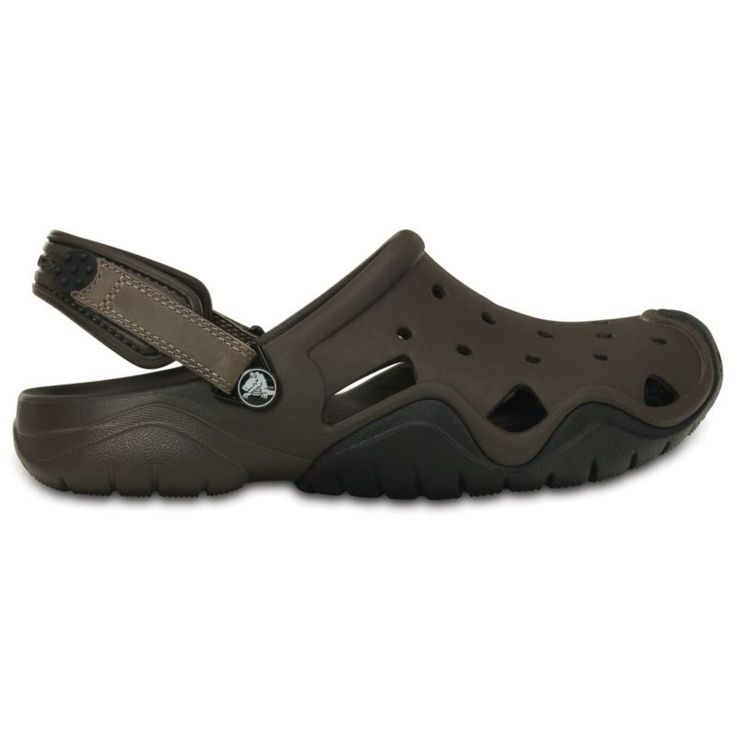 Crocs Men's Swiftwater Clogs, Brown