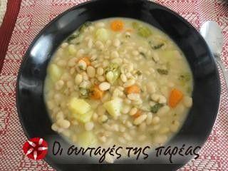 Φασόλια κυπριακά με ταχίνι