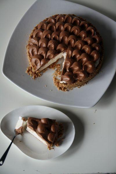cheesecake au mascarpone et ferrero rocher