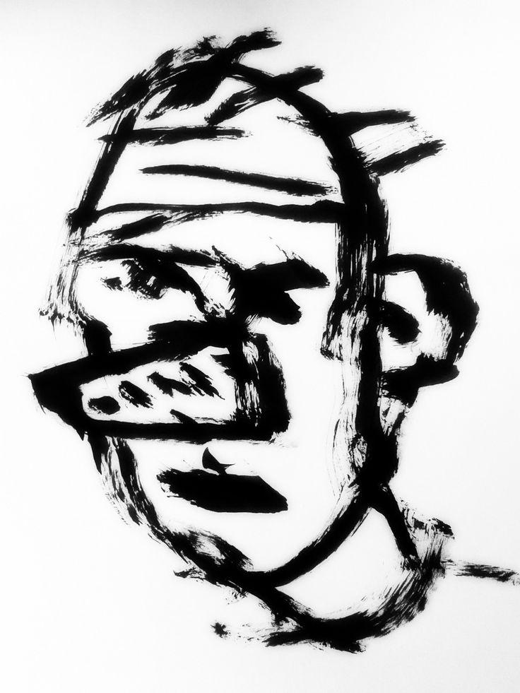 Man with a false nose