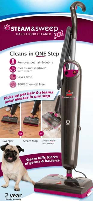 On my must have list with 3 constantly shedding dogs and laminate floors! =]