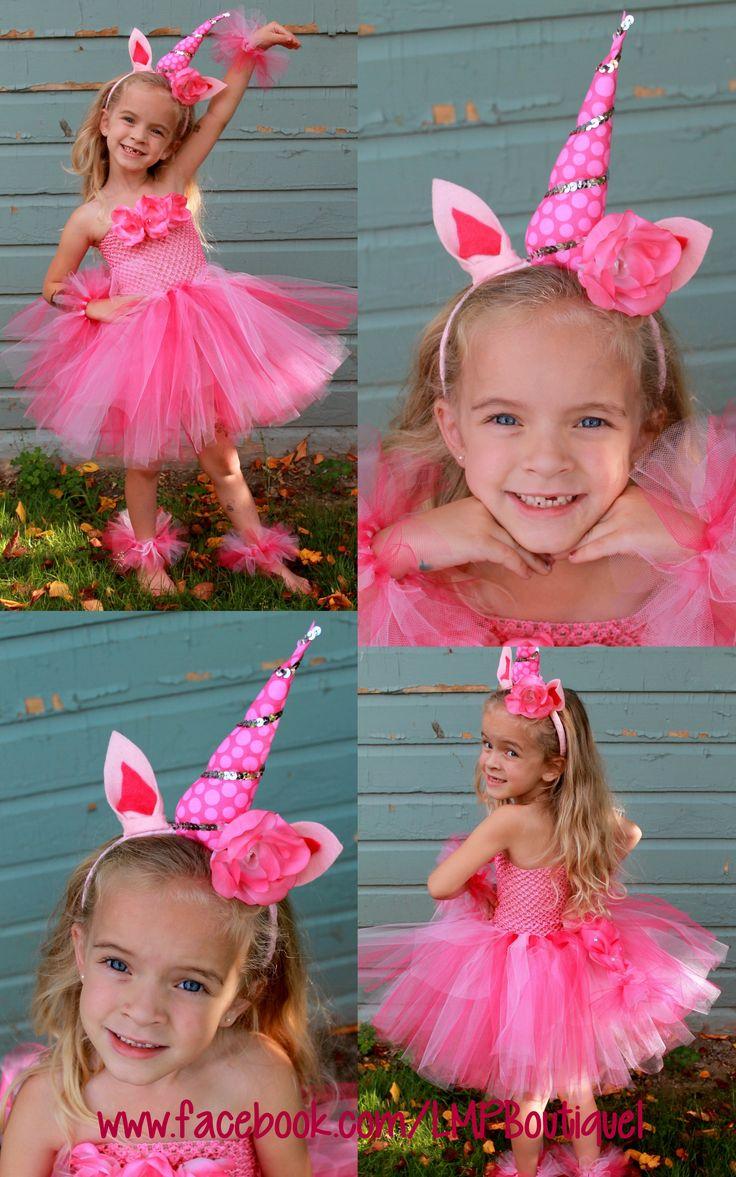 Pink Unicorn tutu by Little Miss Priss Boutique!