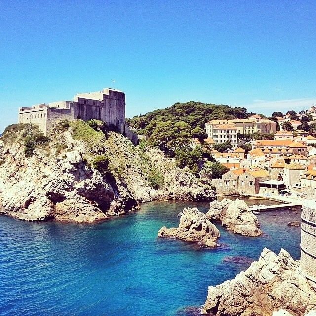 This shot was taken by @marisacooke while she walked the wall of Dubrovnik, Croatia.  Tag #travelnewhorizons and we will upload our favourite shots!  #travel #Croatia #Dubrovnik