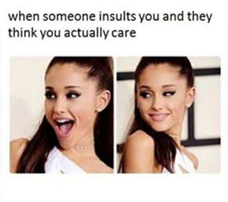 Ariana Grande Insult