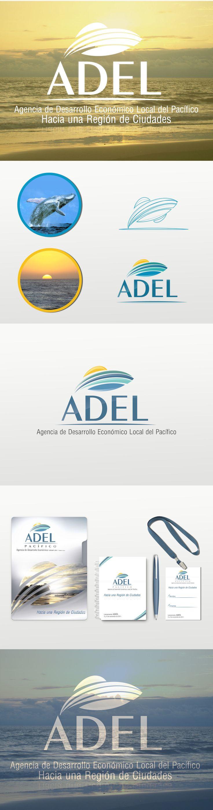 Desarrollo de marca | Branding ADEL | Agencia de desarrollo económico local del pacífico colombiano #Branding #marca #identidadvisual