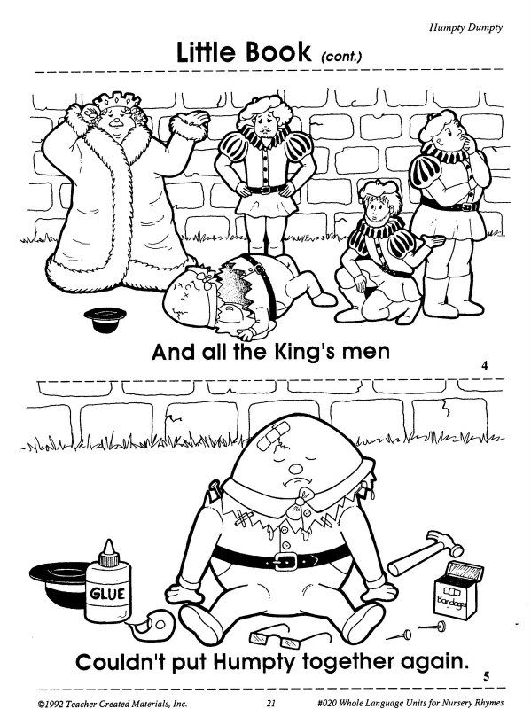 20 best humpty dumpty images on pinterest humpty dumpty for Humpty dumpty puzzle template