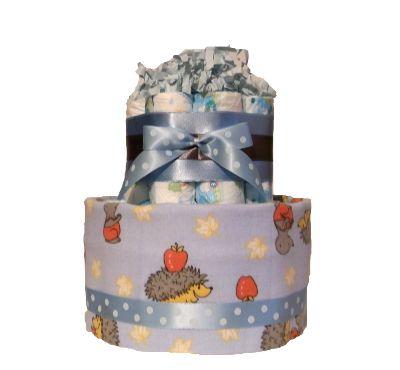 Torta z plienok Ježko