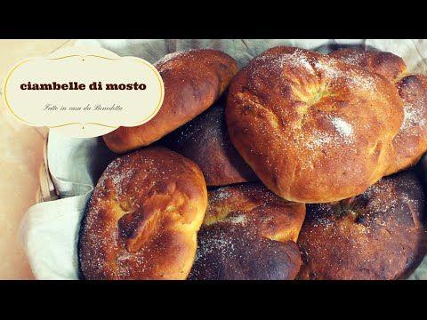 CIAMBELLE DI MOSTO FATTE IN CASA DA BENEDETTA - YouTube