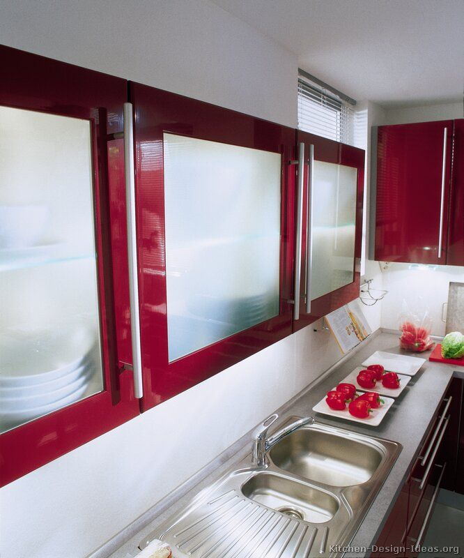 Modern Kitchen Red: 152 Best Images About Red Kitchens On Pinterest