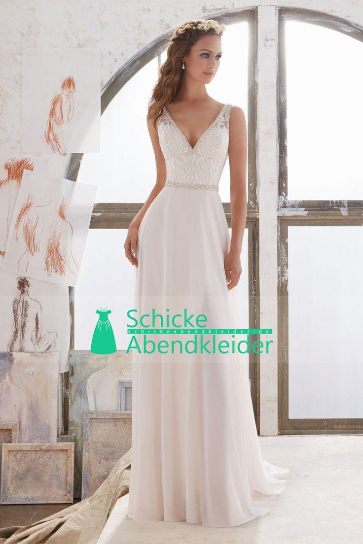75 best Kleider images on Pinterest | Hochzeitskleider, Brautkleid ...