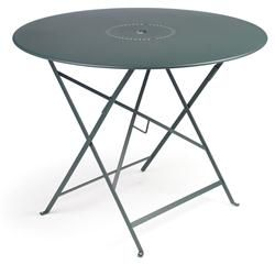Buy 38-inch Floreal Fermob Table with Parasol Hole online with free shipping from thegardengates.com