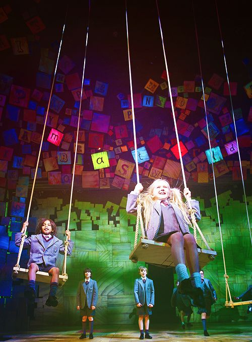 Matilda the Musical (part of it was performed at the Olympic opening ceremony)