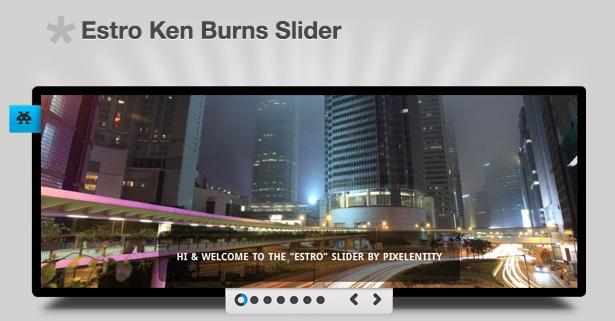Estro - Smooth Ken Burns Slider jQuery Plugin