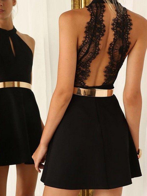 obsessive Minikleid Partykleid Mini Kleid