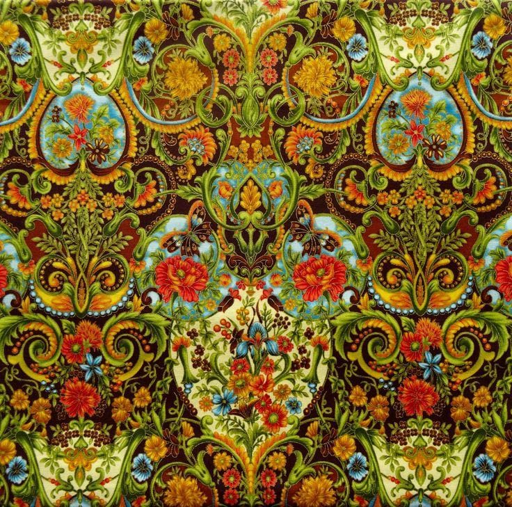 Robert Kaufman - Tuscan Wildflower 2 APTM-8206-193 SUMMER