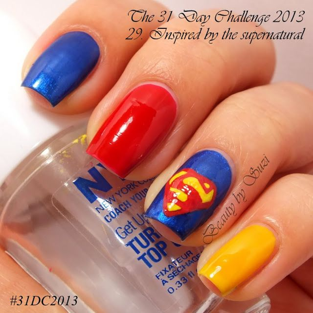 The 31 Day Challenge: 29. Inspired by the supernatural - Superman