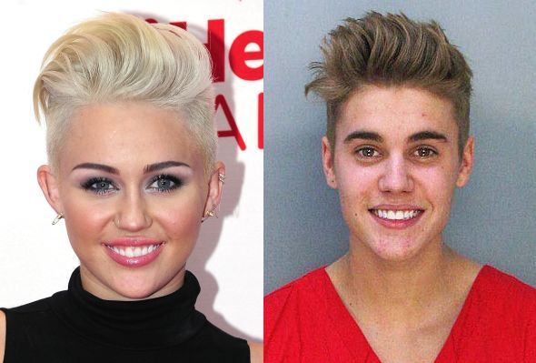 Apologise, Justin bieber and miley cyrus look alike remarkable