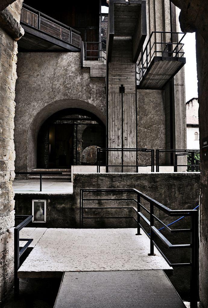Castelvecchio Museum. 1973. Verona Italy. Carlo Scarpa.