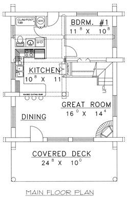 313 best images about autodesk autocad on pinterest for Log home floor plans canada