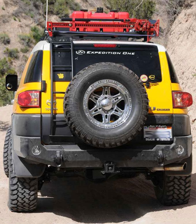 Expedition One Rear Bumper w/out Tire Carrier [FJCRB100] - $855.99 : Pure FJ Cruiser Accessories, Parts and Accessories for your Toyota FJ Cruiser