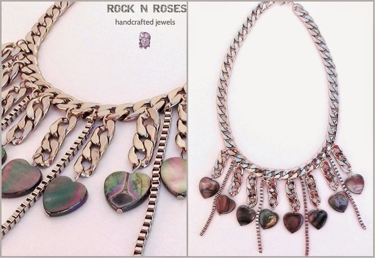 ☆☆ ROCK N' ROSES ☆☆: ♡♡::..THE HEART ATTACK NECKLACE..::  _celebrate w...