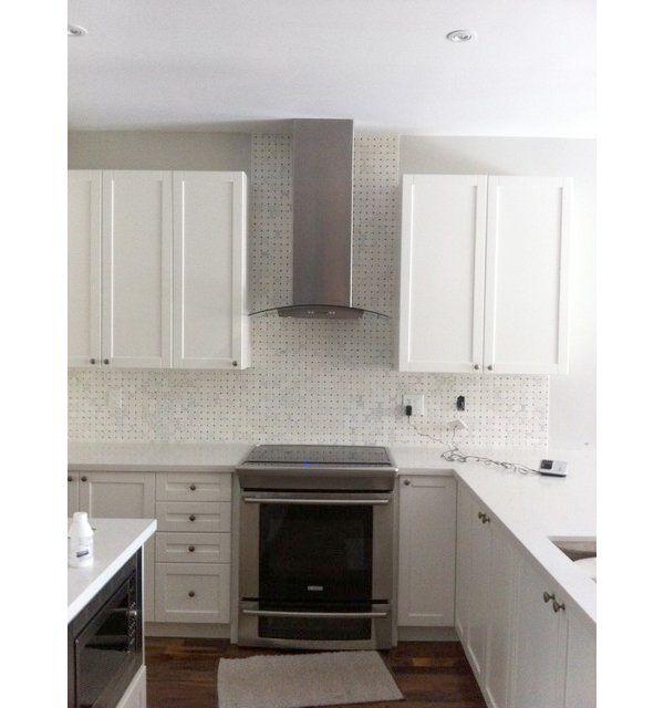 Caesarstone Coastal Grey Kitchen Caesarstone: Frosty_Carrina_Caesarstone_Countertop