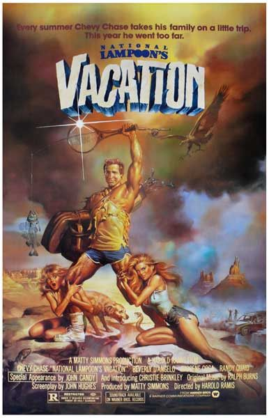 National Lampoons Vacation Chevy Chase Movie Poster 11x17
