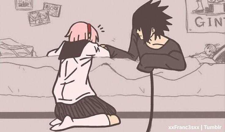 Sakura vs Sasuke (Gaming) Part4