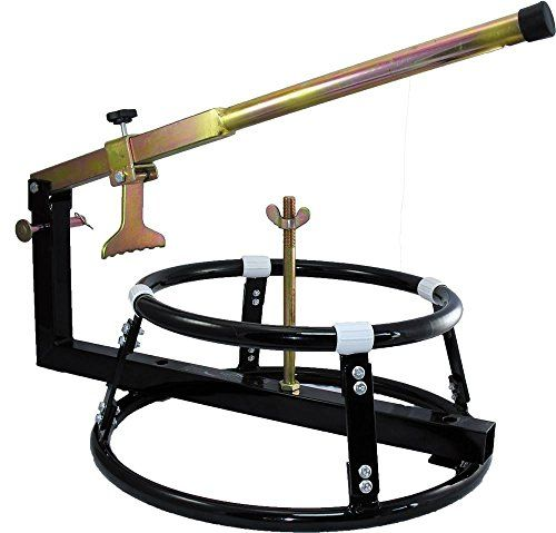Motorcycle TYRE CHANGER Workshop BEAD Breaker Stand £39.95