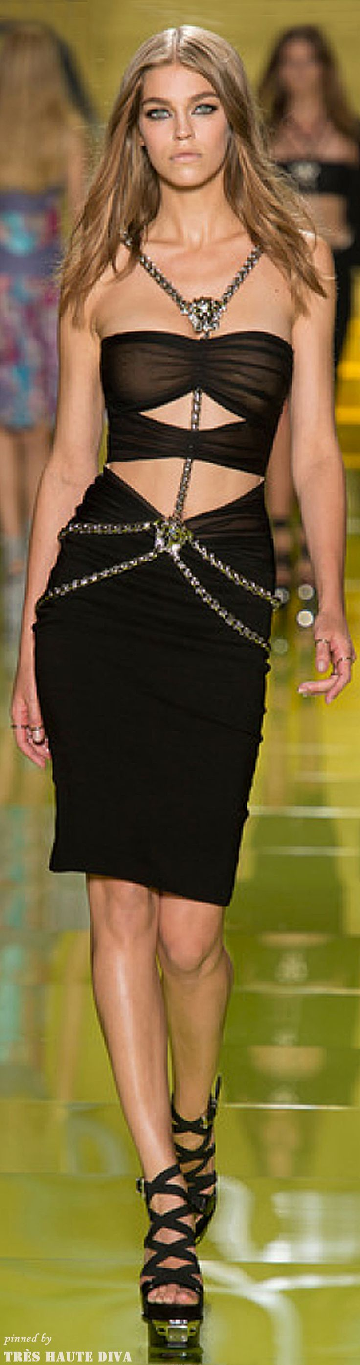 #Milan FW Versace Spring 2914 RTW