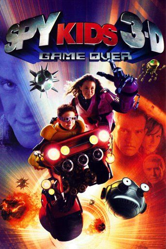 Spy Kids 3-D: Game Over (2003) - Watch Spy Kids 3-D: Game Over Full Movie HD Free Download - Watch Spy Kids 3-D: Game Over (2003) full-Movie Free HD Download