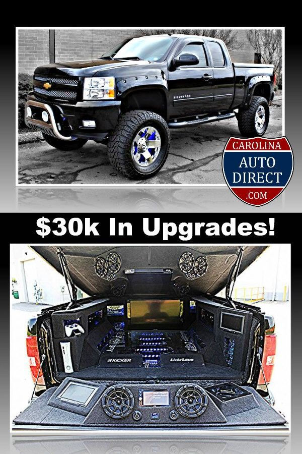2011 Silverado Lifted, LEDS, XBOX, Rough Country Lift, TV's